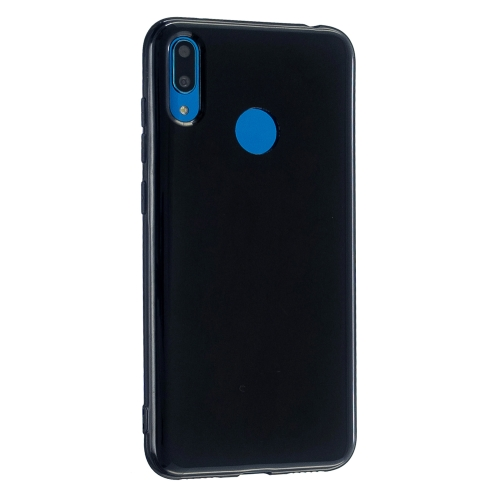 For Huawei Y7 (2019) 2.0mm Thick TPU Candy Color Protective Case(Black) фото