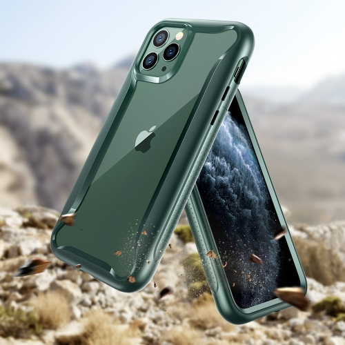 For iPhone 11 Pro Max ESR Hybrid Armor 360 Series Shockproof PC + TPU Protective Case(Dark Green) фото