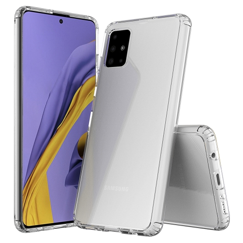 For Galaxy A71 Scratchproof TPU + Acrylic Protective Case(Transparent) фото