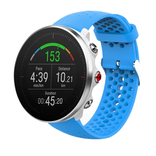 For POLAR Vantage M Silicone Watch Strap(Blue) фото
