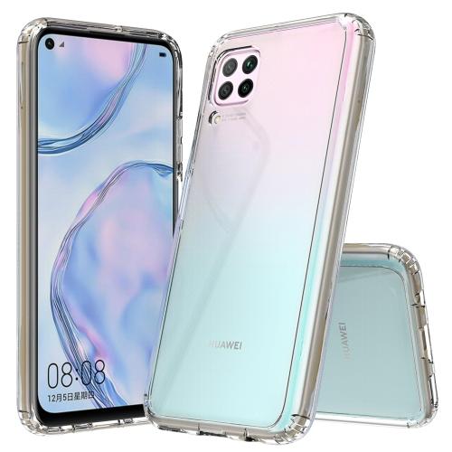 For Huawei P40 lite / nova 6 SE Scratchproof TPU + Acrylic Protective Case(Transparent)