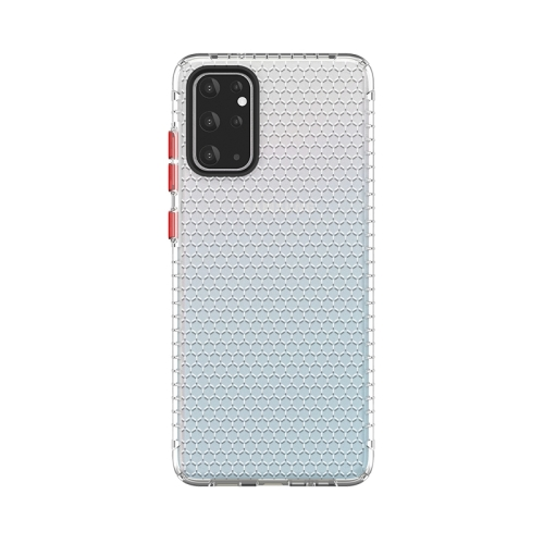 For Galaxy S20 Ultra Honeycomb Shockproof TPU Case(Transparent) фото