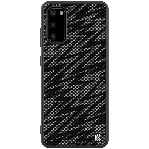 For Galaxy S20 / Galaxy S20 5G NILLKIN Glorious Series TPU + PC 3D Geometric Texture Reflective Mobile Phone Protective Case(Thunderbolt Texture)
