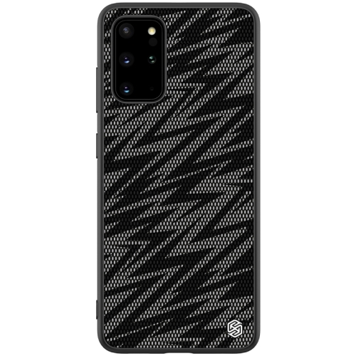 For Galaxy S20+ / Galaxy S20+ 5G NILLKIN Glorious Series TPU + PC 3D Geometric Texture Reflective Mobile Phone Protective Case(Thunderbolt Texture)