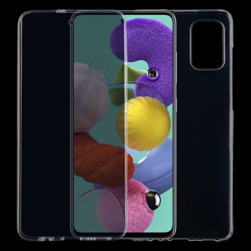 For Galaxy A51 Full Coverage TPU Transparent Mobile Phone Case фото