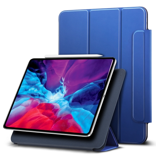 For iPad Pro 12.9 (2020) ESR Yippee Color Magnetic Series Horizontal Flip Leather Case with Holder(Blue) фото