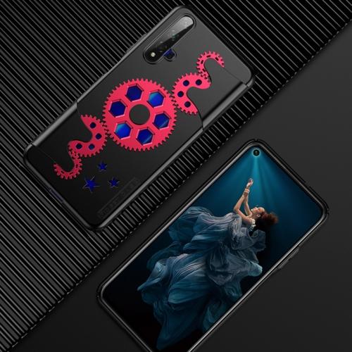 For Huawei Honor 20 / Honor 20S / nova 5T GKK Mechanic Full Coverage PC Case(Red+Black)
