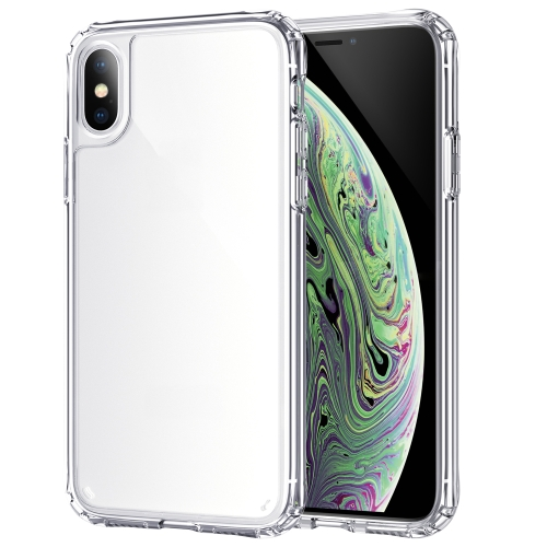 For iPhone X / XS Shockproof Thickening Acrylic Protective Case(Transparent) фото