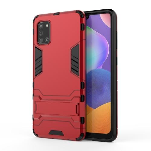 Ανθεκτική Θήκη με stand For Samsung Galaxy A31 (Red)