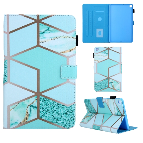 For Samsung Galaxy Tab A8.0 (2019) T290 Colored Drawing Pattern Horizontal Flip Leather Case with Holder & Card Slots & Anti-skid Strip(Green)