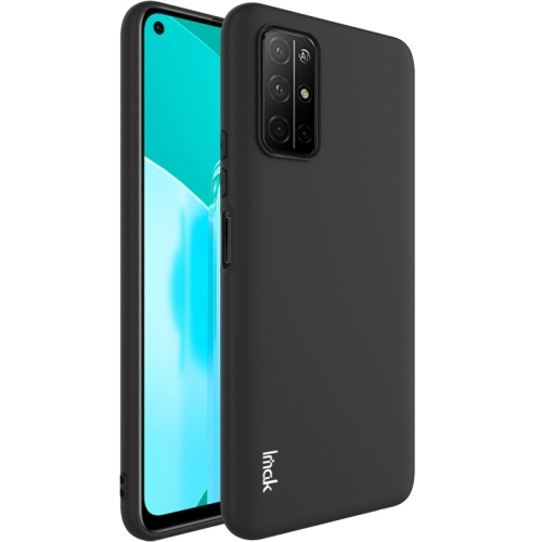 For Honor 30S  Shockproof Frosted TPU Protective Case(Black)