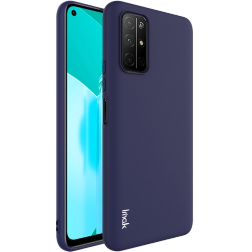 For Honor 30S  Shockproof Frosted TPU Protective Case(Blue)