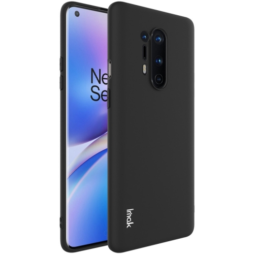 For OnePlus 8 Pro  Shockproof Frosted TPU Protective Case(Black)