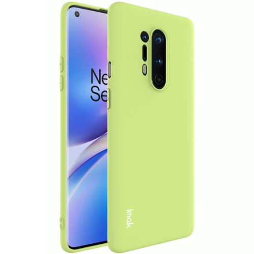 For OnePlus 8 Pro  Shockproof Frosted TPU Protective Case(Green)