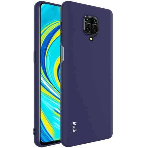 For Xiaomi Redmi Note 9S  Shockproof Frosted TPU Protective Case(Blue)