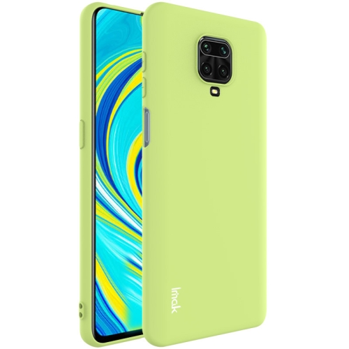 For Xiaomi Redmi Note 9S  Shockproof Frosted TPU Protective Case(Green)