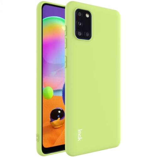 For Samsung Galaxy A31  Shockproof Frosted TPU Protective Case(Green)