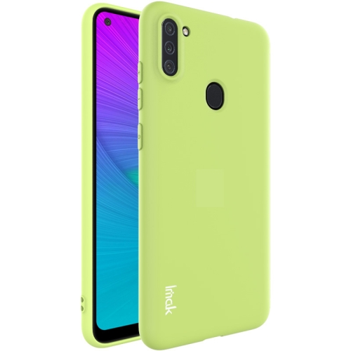 For Samsung Galaxy A11 / M11  Shockproof Frosted TPU Protective Case(Green)