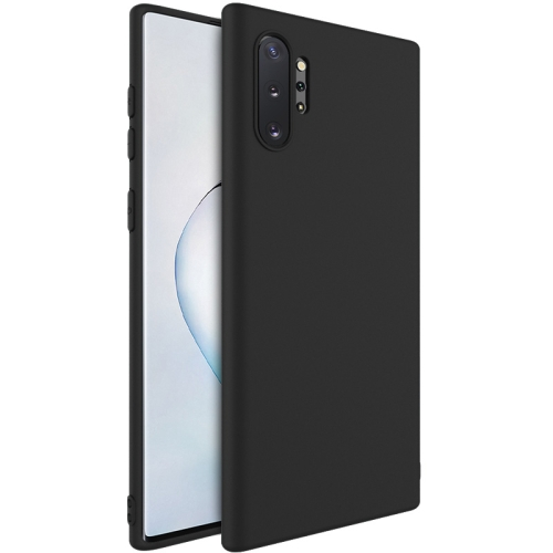 For Samsung Galaxy Note 10  Shockproof Frosted TPU Protective Case(Black)