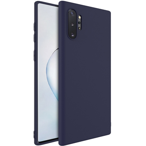 For Samsung Galaxy Note 10  Shockproof Frosted TPU Protective Case(Blue)