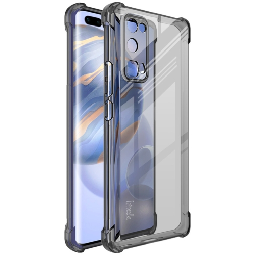 For Honor 30 Pro / 30 Pro Plus   Full Coverage Shockproof TPU Protective Case(Transparent Black)