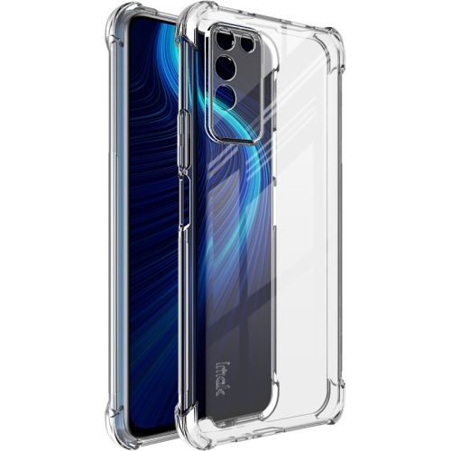 For Honor X10 5G   Full Coverage Shockproof TPU Protective Case(Transparent)