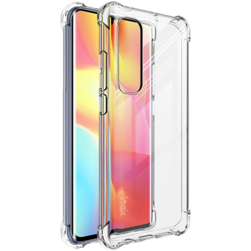 For Xiaomi Mi Note 10 Lite   Full Coverage Shockproof TPU Protective Case(Transparent)