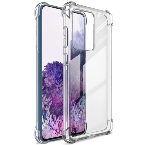 For Samsung Galaxy S20 Ultra 5G   Full Coverage Shockproof TPU Protective Case(Transparent)