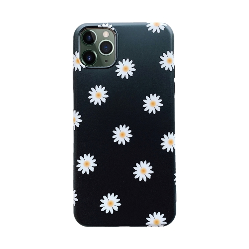 For iPhone 11 Pro Max   Shockproof TPU Soft Protective Case(Daisy)