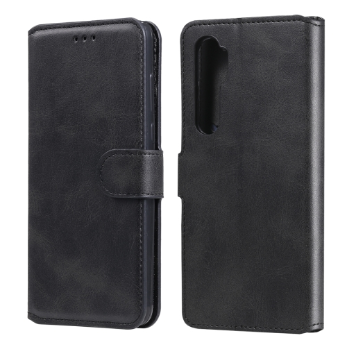 For Xiaomi Mi Note 10 Lite Classic Calf Texture PU + TPU Horizontal Flip Leather Case, with Holder & Card Slots & Wallet(Black) фото