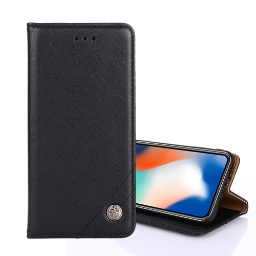 sunsky-online.com - 15% OFF by SUNSKY COUPON CODE: EDA00849101 for For iPhone XS Max Non-Magnetic Retro Texture Horizontal Flip Leather Case with Holder & Card Slots & Wallet(Black)