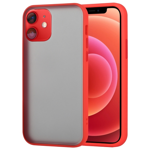 sunsky-online.com - 15% OFF by SUNSKY COUPON CODE: EDA00896001 for GOOSPERY PEACH GARDEN Shockproof Mobile Phone Protection Cover For iPhone 12 Mini(Red)