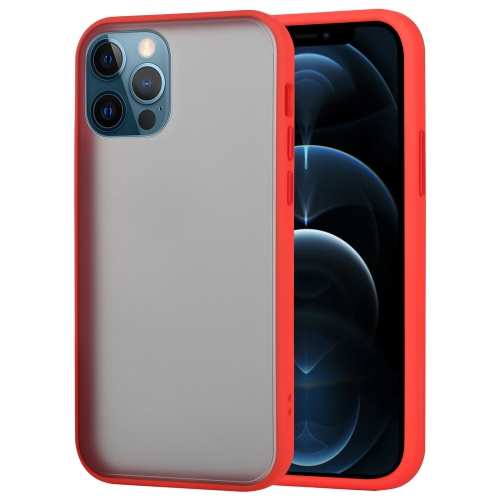 sunsky-online.com - 15% OFF by SUNSKY COUPON CODE: EDA00896002 for GOOSPERY PEACH GARDEN Shockproof Mobile Phone Protection Cover For iPhone 12 / 12 Pro(Red)
