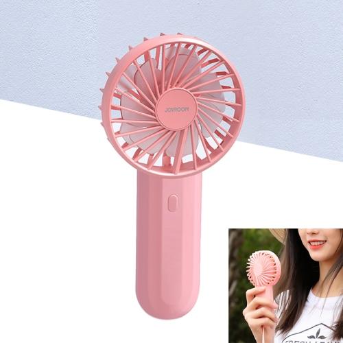 JOYROOM JR-CY287 Whirlwind Series-holding Fan Portable Handheld Mini Electric Fan (Pink)