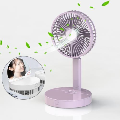 A3 Desktop Mirror Fan (Pink)