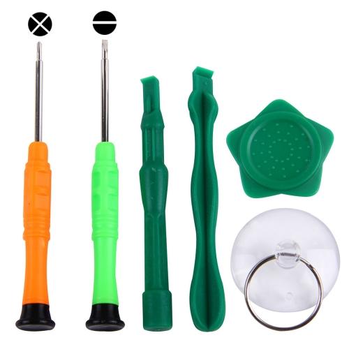 Linmatealliance Repair Tool kit Kit 6 in 1 Professional Screwdriver Repair Open Tool Kit for Samsung