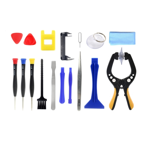 JF-8143 Metal + Plastic 17 in 1 Multi-function Repairing Disassemble Tool Kit