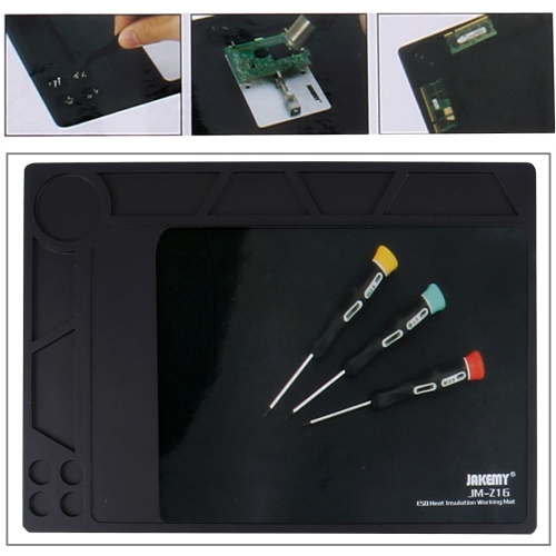 Jakemy JM-Z16 Anti-static Heat Insulation Working Mat, Size: 35.9 x 26cm