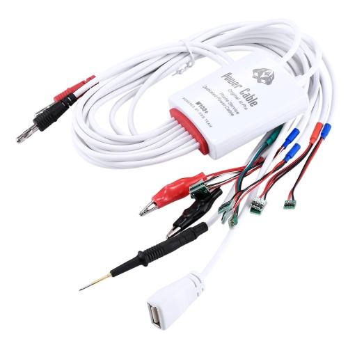 W103+ USB Port Service Dedicated Power Cable for iPhone X & 8 Plus & 8 & 7 Plus & 6s Plus & 6s & 6 Plus & 6 & 5C & 5SE & 5S & 5 & 4S & 4
