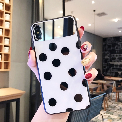 Glass Protective Case For iPhone 8 Plus & 7 Plus(White)