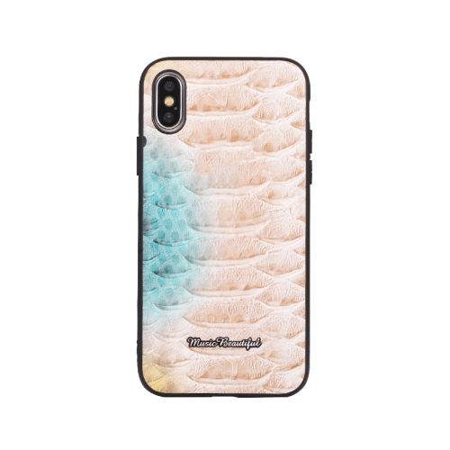 Leather Protective Case For iPhone XS Max(Pink)