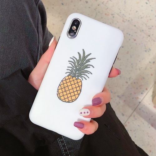 Fashion TPU Protective Case For iPhone XS Max(Pineapple Pattern)