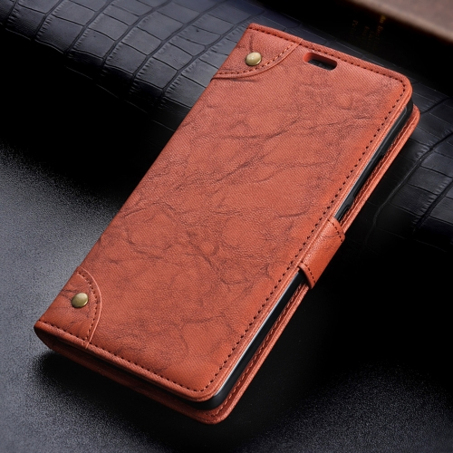 Copper Buckle Retro Crazy Horse Texture Horizontal Flip Leather Case for  Google Pixel 3 XL 45cfc7ae0d6