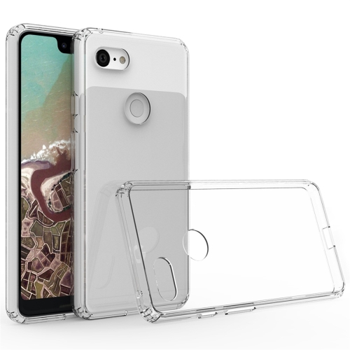 Scratchproof TPU + Acrylic Protective Case for Google Pixel 3 XL(Transparent)