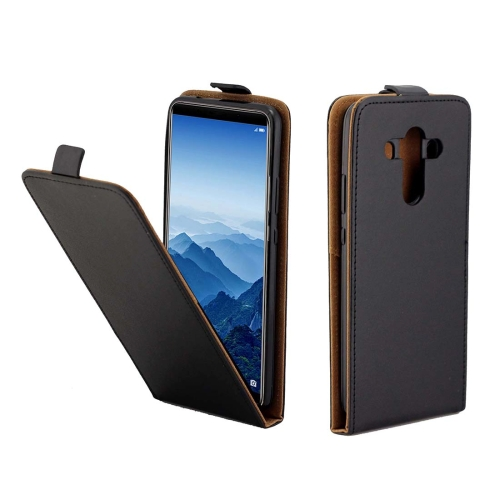 Buy Huawei Mate 10 Pro TPU Business Style Vertical Flip Protective Leather Case with Card Slot, Black for $2.01 in SUNSKY store