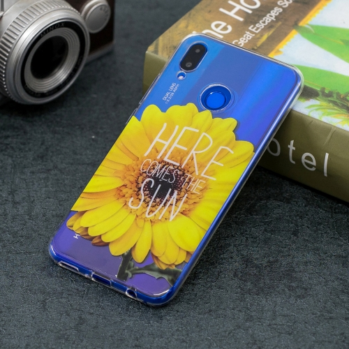 SUNSKY - Pattern Transparent TPU Soft Case for Huawei Nova 3i