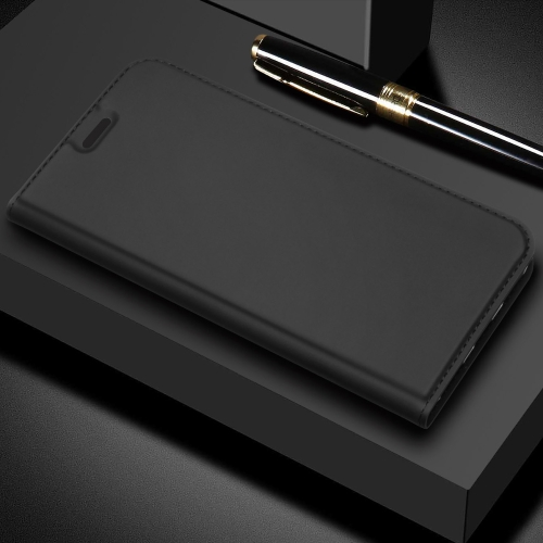DZGOGO ISKIN Series Slight Frosted PU+ TPU Case for Huawei Honor 8X(Grey)