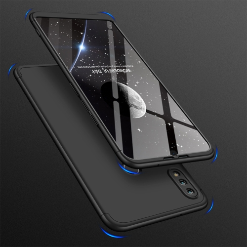GKK Three Stage Splicing Full Coverage PC Case for Huawei Honor 8X Max(Black)