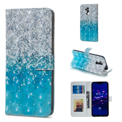 Sea and Sand Pattern Horizontal Flip Leather Case for Huawei Mate 20 Lite, with Holder & Card Slots & Photo Frame & Wallet