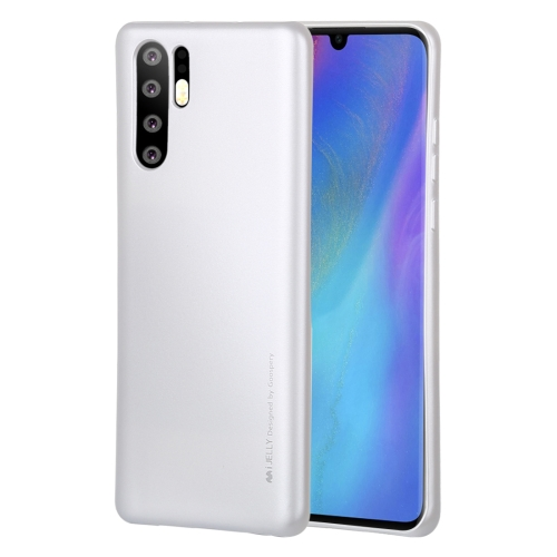 MERCURY GOOSPERY I JELLY Metal Series Shockproof Soft TPU Case for Huawei P30 Pro(White)